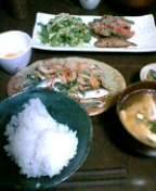 昨夜の晩ご飯。