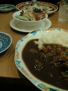今日は外食べ。
