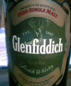 Glenfiddich18年。
