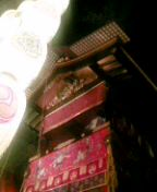 祇園祭りでチェーを食す。