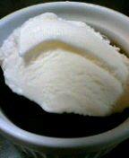 昨夜はアイスをのせてみた。