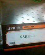 ルピシアでサクラティ。