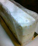 マールブランシュのチーズケーキ。