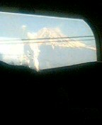 久しぶりに富士山見た。