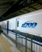 帰りは最終新幹線。