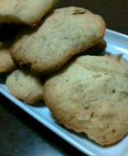 クッキーを焼いてみた。