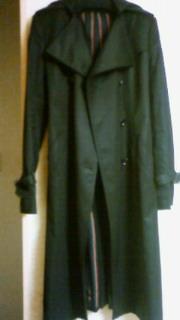 LoisCRAYONのコート。