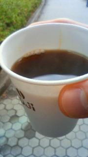 1杯のコーヒー。