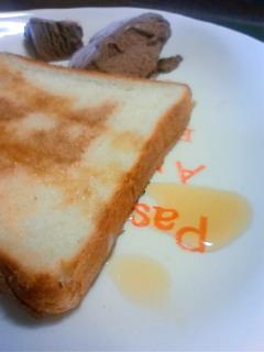 趣味な朝食。